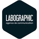 LABOGRAPHIC • Graphiste, création de site internet, imprimerie. Béziers Logo